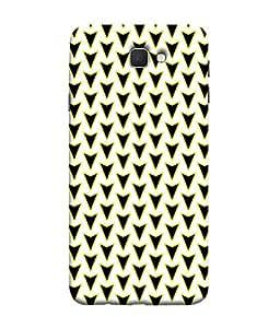 ColorKing Samsung J5 Prime Case Shell Cover - Arrows Multi Color