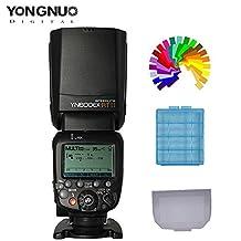 YONGNUO YN600EX-RT II Wireless Flash Speedlite For Canon Eos Digital Cameras 5D Mark IV III 6D 7D 1D 60D 70D Replaces Canon 600EX-RT II