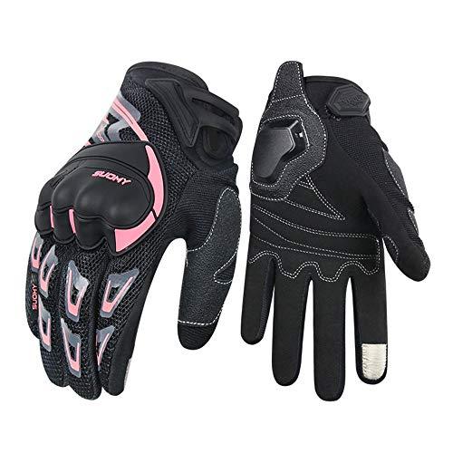 FitTrek Motorradhandschuhe Damen – Handschuhe für Motorrad Fahrrad MTB Downhill Outdoor Sportarten – Motocross…