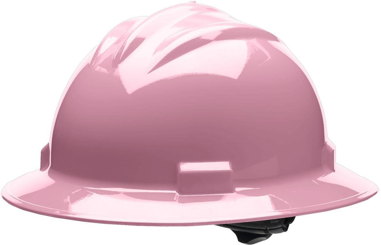 Bullard 71lpb estándar serie completa Brim Hat, 4 punto trinquete suspensión, vinilo Cejas Pad, Luz Rosa, un tamaño: Amazon.es: Amazon.es