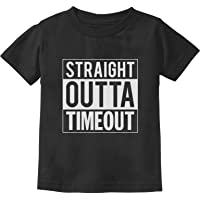 TeeStars - Straight Outta Timeout Funny Toddler/Infant Kids T-Shirt