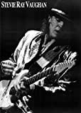 Stevie Ray Vaughan Black and White Music Poster Print 23 x 33in