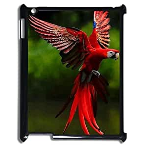 Fggcc Parrot Cell Phone Case for Ipad 2,3,4,Parrot Ipad 2,3,4 Back Case (pattern 8)