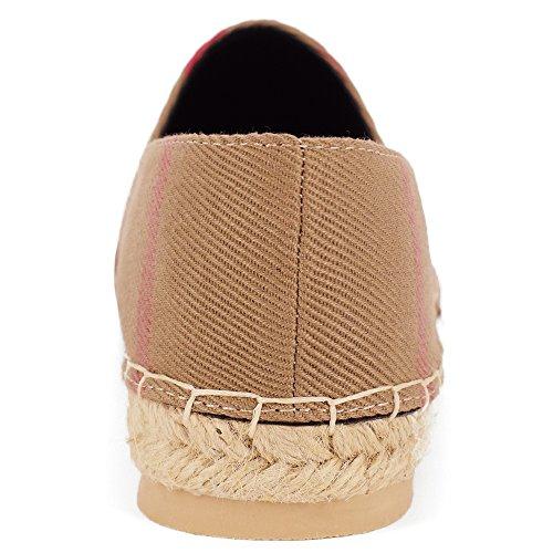 Tengyu Flats Shoes Women's Espadrilles Original Slip On Loafer Shoes Classic Canvas Comfort Alpargatas(US8=EU39=24.5CM) by Tengyu (Image #1)