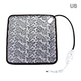 Pet Heating Pad,Indstry968 Cat Dog Electric Pet Heating Pad Indoor Waterproof Dog Warm Bed Mat Heated Suitable for Pets Beds Pets Blankets and Kennel