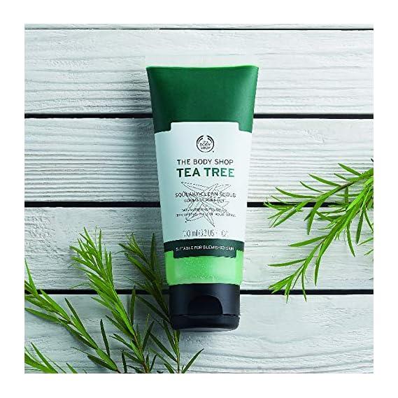 The Body Shop Daily Scrub, Tea Tree, 100ml