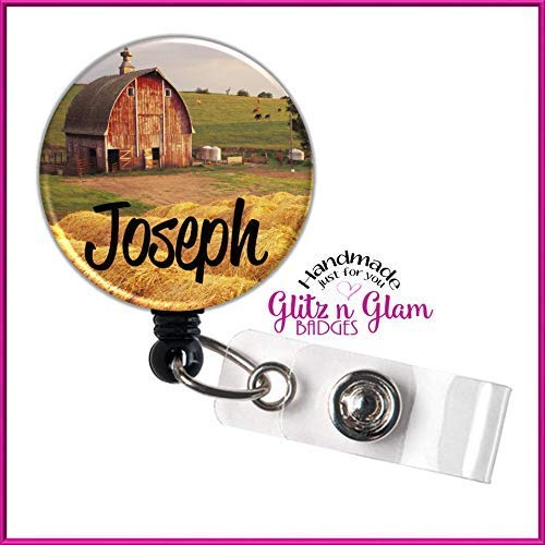 Retractable Badge Reel Name Tag ID Pull Clip Holder Pharmacist Graduation Gift
