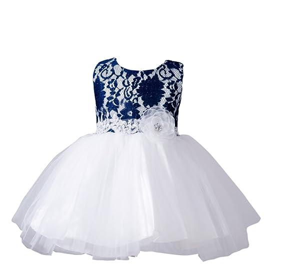 Vlunt Vlunt Maedchen Hochzeit Party Kleid Kind Baby Kleid fuer 1-9 ...
