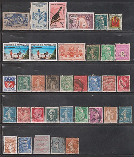 Cancelled Postage Stamps Of France & French Colonies