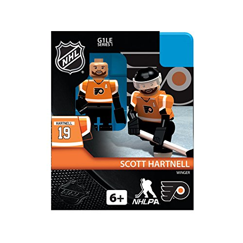 NHL Philadelphia Flyers Scott Hartnell Orange Generation 1 OYO