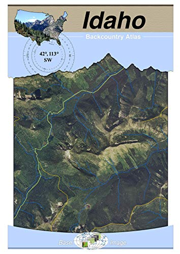 (42°113° SW - Oakley, Idaho Backcountry Atlas (Aerial))