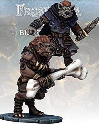 Frostgrave Gnoll Thief & Barbarian - FGV216 from Warlord Games