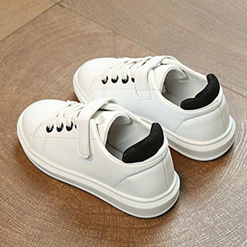Huhu833 Baby Schuhe Baby Kinder Fashion Sneaker Kinder Jungen Mädchen Casual Running Schuhe Sportschuhe Turnschuhe Schwarz