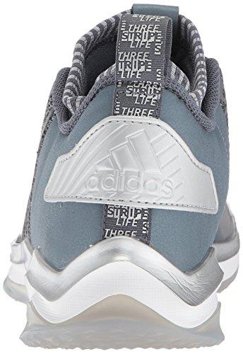Scarpa Da Baseball Adidas Uomo Freak X Carbon Mid Blu / Bianco / Argento Metallizzato