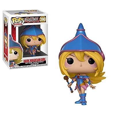 POP Animation: Yu-Gi-Oh! Yami Yugi, Seto Kaiba, Blue-Eyes White Dragon and Dark Magician Girl Vinyl Figures Set: Toys & Games