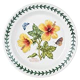 Portmeirion Exotic Botanic Garden Bread and Butter Plate with Hibiscus Motif