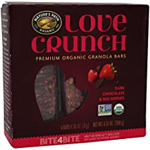 Natures Path Bar Love Crunch Chocolate Red, 6.35 oz