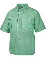 Drake Short Sleeve Wingshooter Plaid Sun Shirt