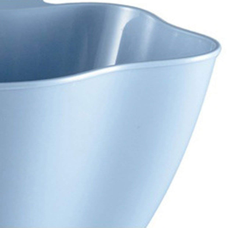 MXECO Gabinete de Cocina Puerta Colgante Cubo de Basura Hogar Creativo Recept/áculo de pl/ástico sin Tapa Dormitorio Mini cesto de Basura