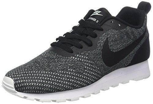 Mesh Mesh Femme 2 blanc Md Runner noir Noir Nike Nike igloo Eng noir Baskets 003 Yq4InS