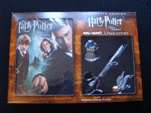 Click for larger image of Harry Potter and the Order of the Phoenix (Full-Screen Edition) 2-Pack Gift Set