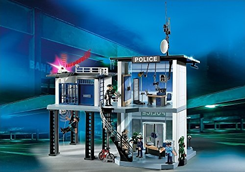 - PLAYMOBIL® Police Station with Alarm System