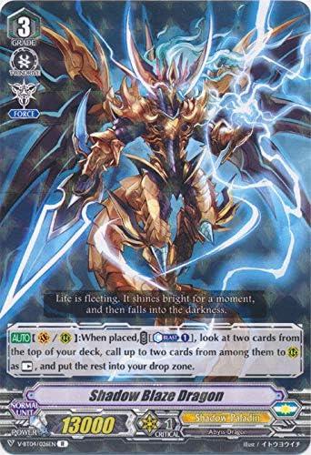 Deletor V-BT04//014EN RR Dark Metal Dragon Cardfight Vanguard Vilest