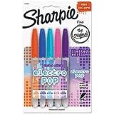 Sharpie 1919847 Electro Pop Assortment Markers 5 Count