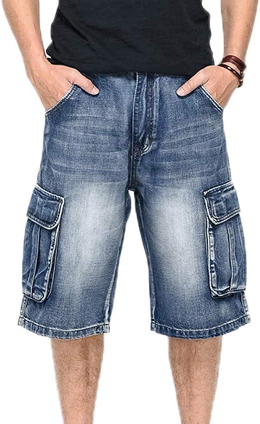 Pantalones Vaqueros Cortos Estilo Hip Hop Para Hombres Pantalones Cortos De Rap Tacticos De Carga Con Multiples Bolsillos Boy Amazon Es Ropa Y Accesorios