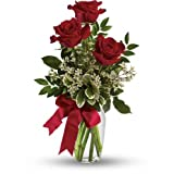 Thoughts of You Bouquet with Red Rose