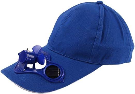 Gorra de béisbol para verano, para hombre y mujer, con ventilador ...