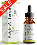 Facial Serum For Acne - Anti Aging Hyaluronic Acid and Retinol Serum 2.5% for Face with Vitamin E For Oily Acne Skin - Best Retinol Facial Moisturizer - Reduce Fine Lines - Wrinkle - Dark Spots - Pure Organic Ingredients 1oz