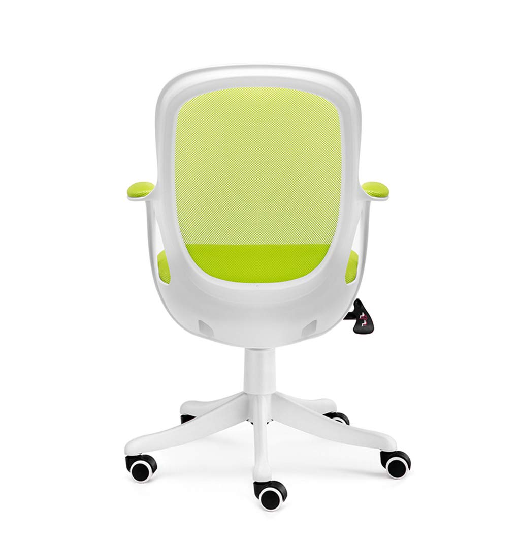 回転チェアオフィスホーム高さ調整可能な家庭用360°回転椅子アームレストバックグリーン   B07G3WYQJ7