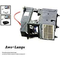 AWO SP-LAMP-009 SP-LAMP-018 SP-LAMP-021 Premium Replacement Lamp with Housing for INFOCUS X1/X1A/LPX1/LPX1 EDUCATOR/LPX1A/LS4800/ScreenPlay 4800/SP4800/C109;KNOLL HD101,LPX2/LPX3/X2/X3; SP4805/LS4805