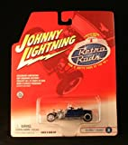 diecast street rod - '23 FORD T-BUCKET #2 * BLUE * 2002 Johnny Lightning RETRO RODS Series 1 Limited Edition Die Cast Vehicle * 1 of only 15,000 *