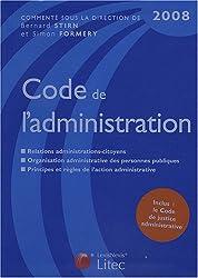 Code de l'administration (ancienne édition)