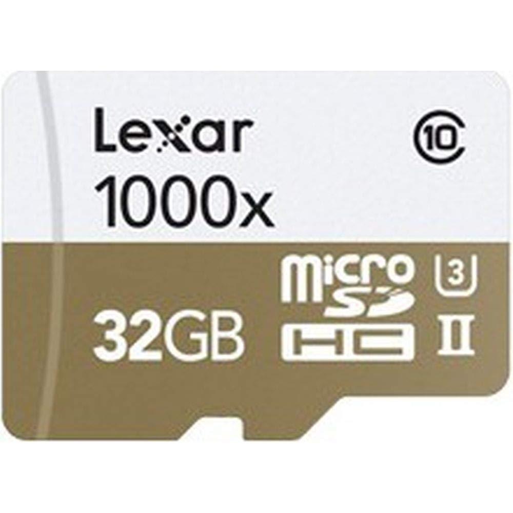 Lexar lsdmi32gcbeu1000r Professional Class 10 1000 x Micro ...