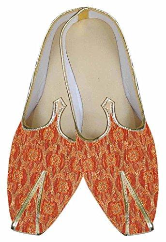 fabulosos Naranja Indio Hombres Zapatos MJ0014 INMONARCH n7pFx5