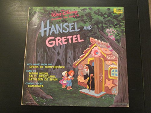 Walt Disney Presents The Story of Hansel and Gretel by Disneyland (1964)