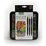 Crayola Graphic & Ultra Fine Dual-Tip Markers with Decorative Case, 16 Markers, 32 Colors
