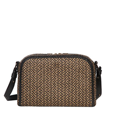 Eric Javits Stripe (Eric Javits Luxury Fashion Designer Women's Handbag- Squishee Courbe - Antique)