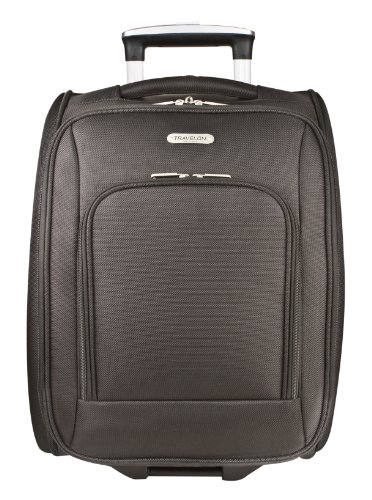 Travelon 18 Inch Wheeled Underseat Carry On Bag, Black, One Size