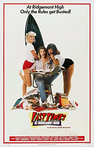 Fast Times at Ridgemont High (1982) Movie Poster 24