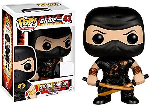 Funko GI Joe POP! Animation Storm Shadow Vinyl Figure #43 - Cobra Ninja Storm Shadow