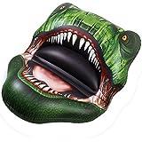 "JETSUP Funtyr6 Inflatable Trex Head Big Bite Pool Float, 65"""