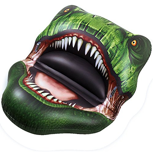 JETSUP Funtyr6 Inflatable Trex Head Big Bite Pool Float, for sale  Delivered anywhere in USA