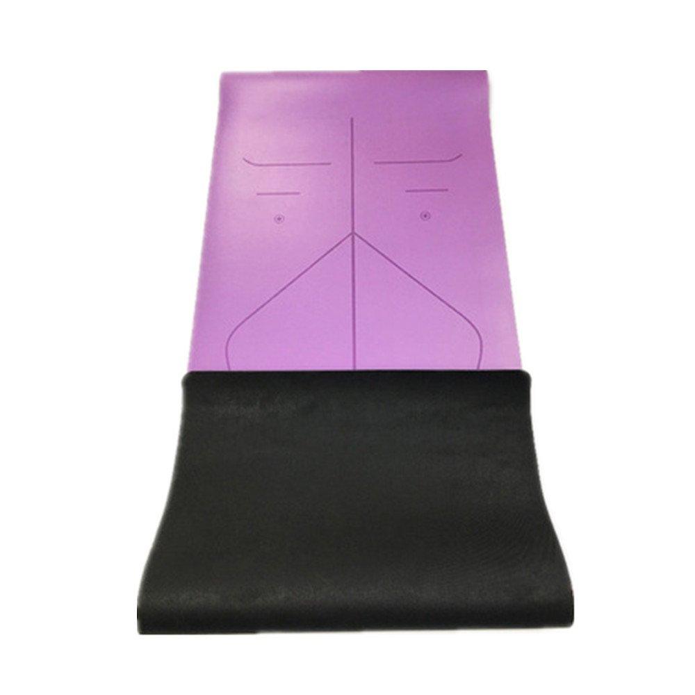 Aszhdfihas Yoga Matte Pu5mm Umweltfreundliche Köstliche Fitness-Matte Yoga-Matte Für Gym Familie.
