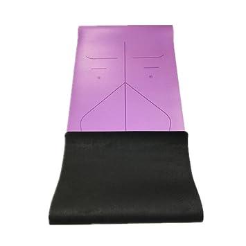 Techecho Estera de Yoga Mat Pu5mm ecológico Delicioso Estera ...
