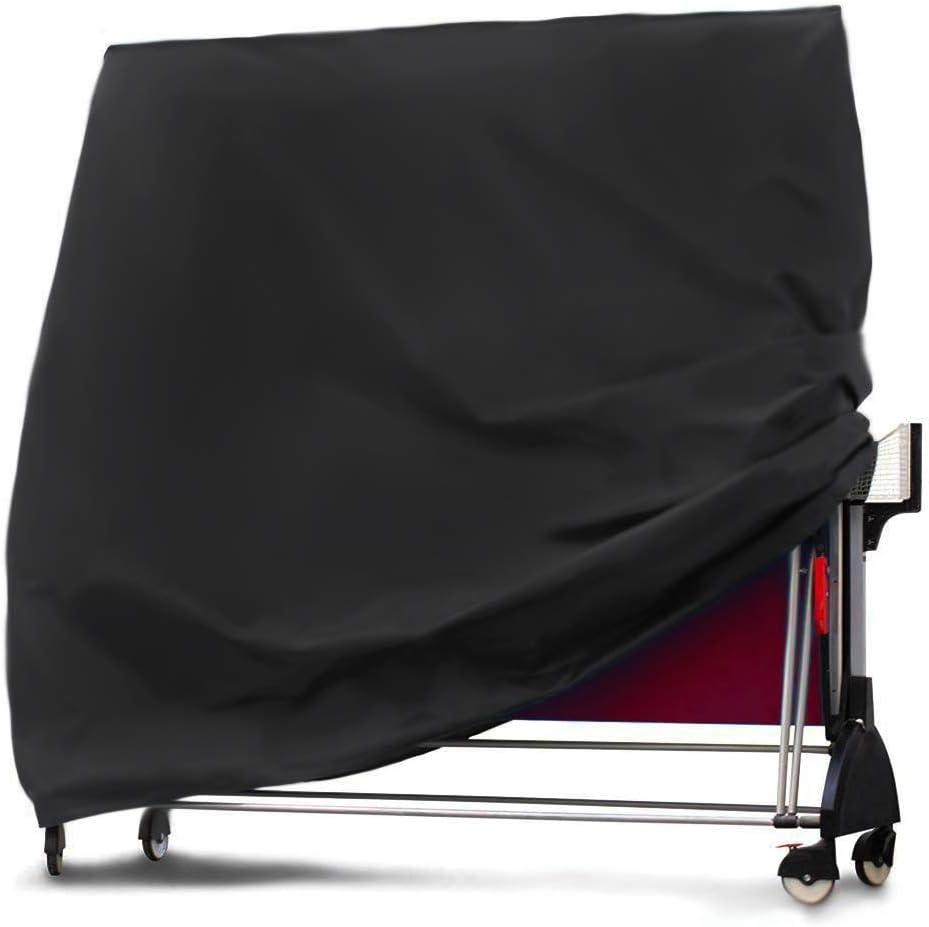 EDAHB® - Funda para Mesa de Ping Pong de Alta Resistencia 420D/210D, Resistente a la Intemperie (165 x 70 x 185 cm), 1, 210D Oxford Cloth