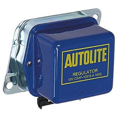 New 1965-67 Ford Mustang Engine Voltage Regulator 38/42 Amp Alternator Autolite Made in USA (C5AF-10316A)